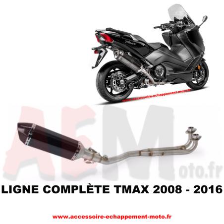 Ligne complète d'échappement Yamaha TMAX 530 2008 - 2016