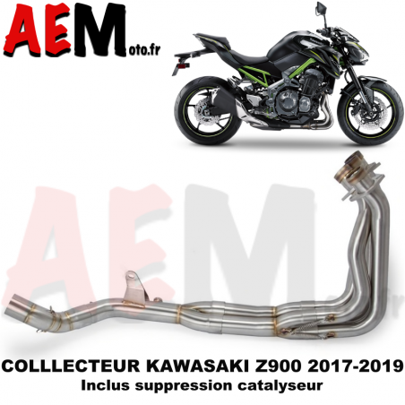 Collecteur sport KAWASAKI Z900 2017 - 2019