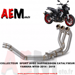 Collecteur Sport Yamaha...