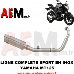 Ligne complète sport Yamaha...