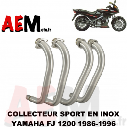 Collecteur en inox Yamaha...
