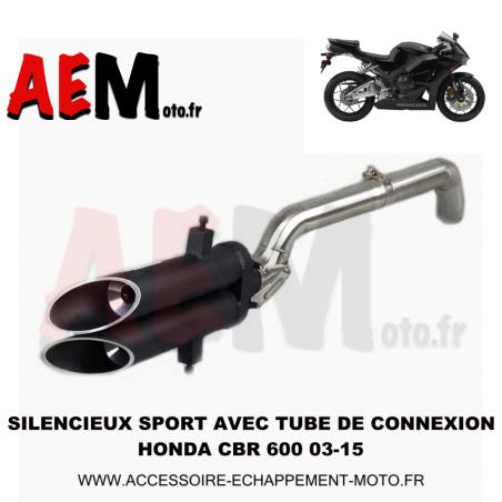 Silencieux sport Honda CBR 600 RR 2003 - 2015