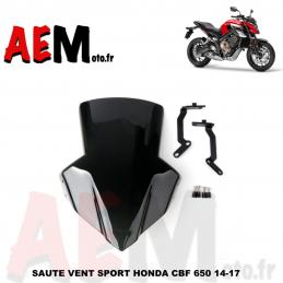 Bulle fumé Honda CBF 650...