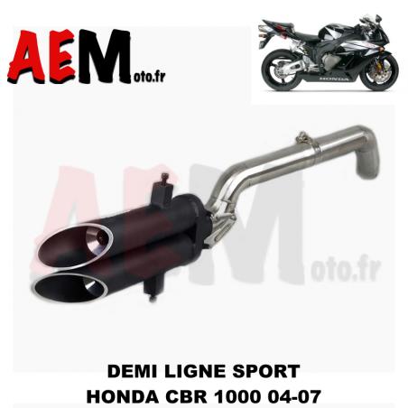 Demi ligne d'échappement sport Honda CBR 1000 RR 2004 - 2007