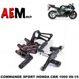 Commandes reculées Honda...