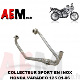 Collecteur sport Honda 125...