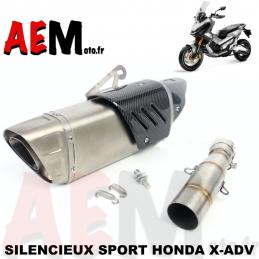Silencieux sport inox Honda...