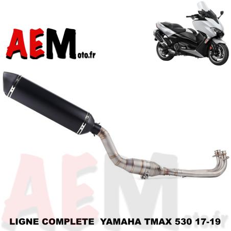 Ligne complète d'échappement Yamaha TMAX 530 2017-2019