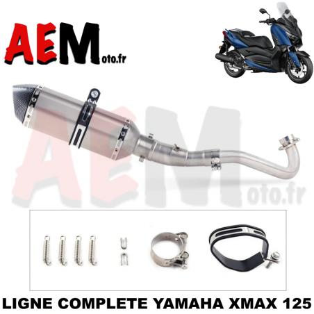 Ligne complète sport Yamha Xmax 125