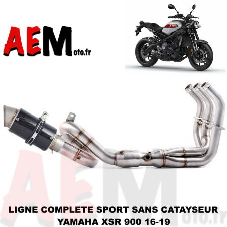 Ligne complète sport collecteur + echappement Yamaha XSR 900 16-19