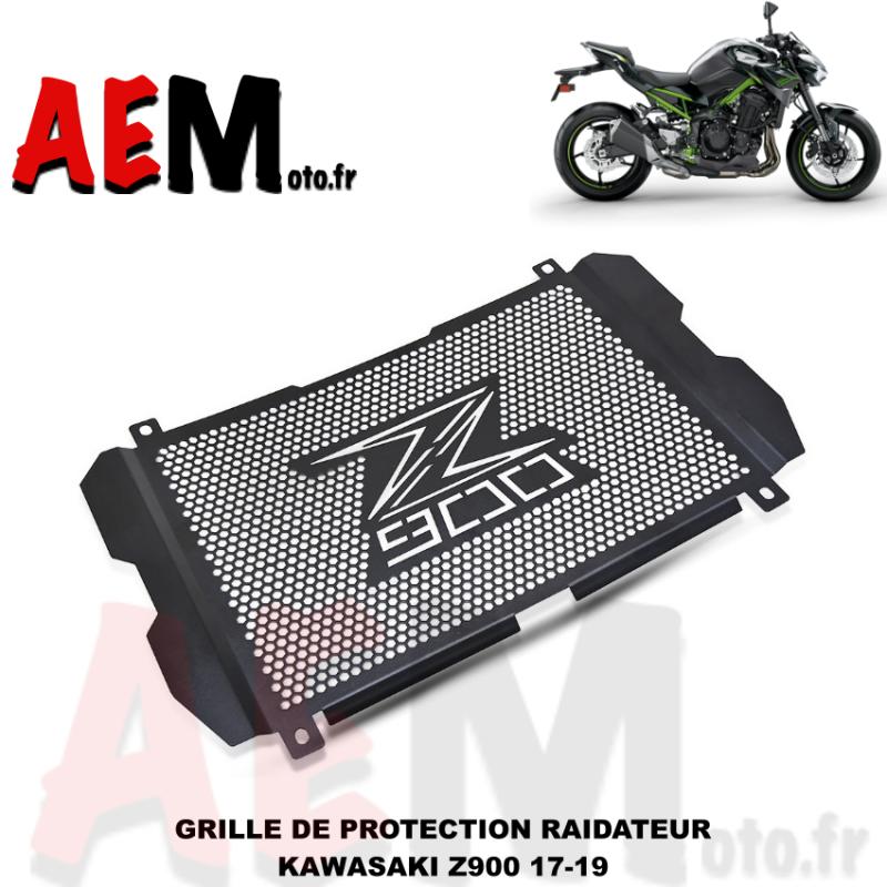 Z900 Moto Alliage Daluminium Grille de Radiateur Protection pour Kawasaki Z900 2017 2018