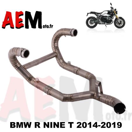 Collecteur + suppression catalyseur TITANE BMW R nine T