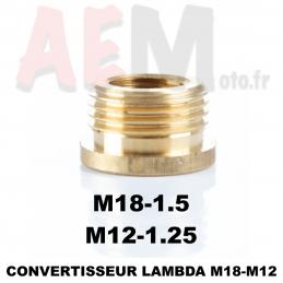 Réducteur Lambda M18 vers M12