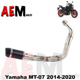 Ligne complète Yamaha MT-07...