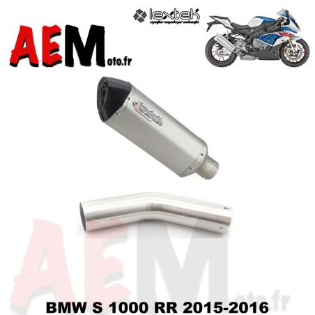 Silencieux sport LEXTEK BMW S 1000 RR 2015-2016