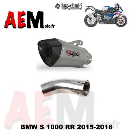 Echappement sport LEXTEK BMW S 1000 RR 2015-2016