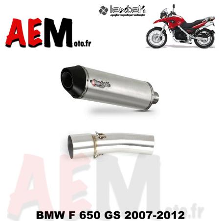 Silencieux LEXTEK sport BMW F 650 GS 2007-2012
