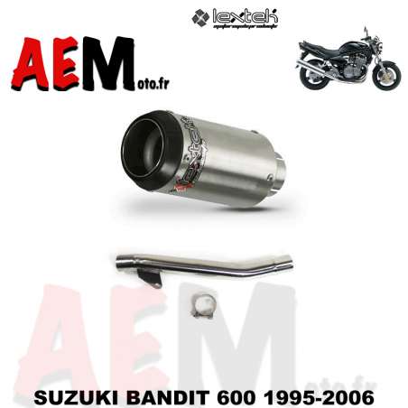 Echappement sport LEXTEK SUZUKI BANDIT 600 1995-2006