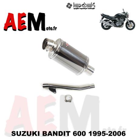 Echappement sort LEXTEK SUZUKI BANDIT 600 1995-2006