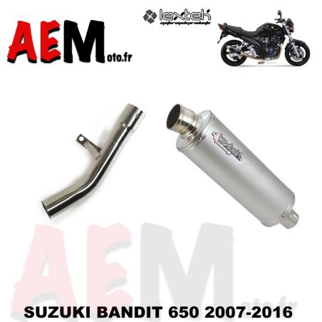 Silencieux sport SUZUKI BANDIT 650 2007-2016