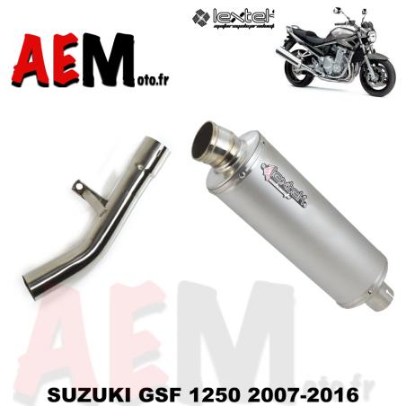 Echappement sport LEXTEK SUZUKI GSF 1250 BANDIT 2007-2016