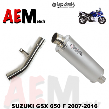Echappement sport LEXTEK SUZUKI GSX 650 F 2007-2016