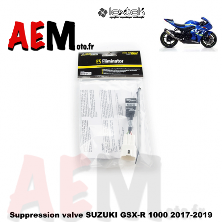 Suppression valve électronique SUZUKI GSX-R 1000 2017-2019