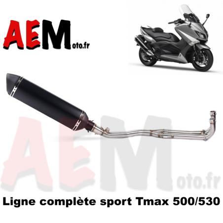 Ligne complète sport Yamaha TMAX 500-530 01-16