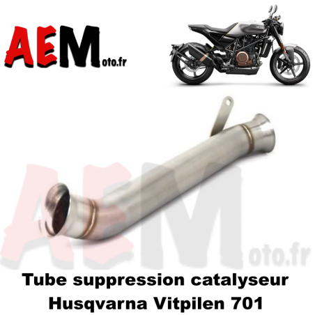 Tube suppression catalyseur Husqvarna VITPILEN 701