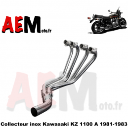 Collecteur inox Kawasaki KZ...