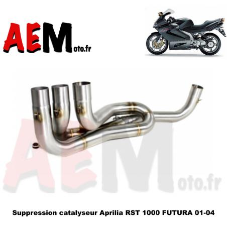 Tube suppression catalyseur Aprilia RST 1000 FUTURA 01-04