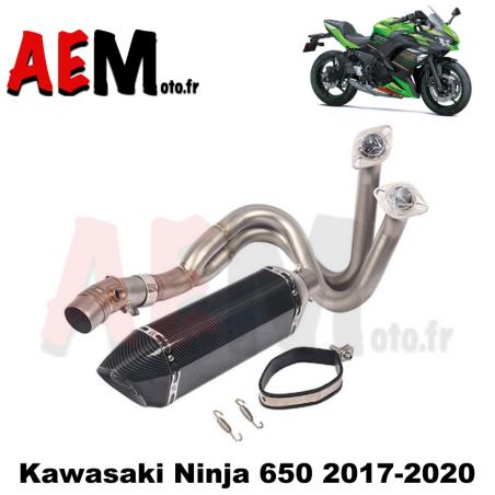 Ligne complète sport carbone KAWASAKI Ninja 2017 - 2020