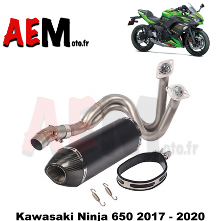 Ligne complète sport KAWASAKI Ninja 650 2017 - 2020