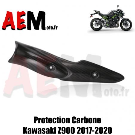 Protection d'échappement carbone Kawasaki Z900 2017-2020