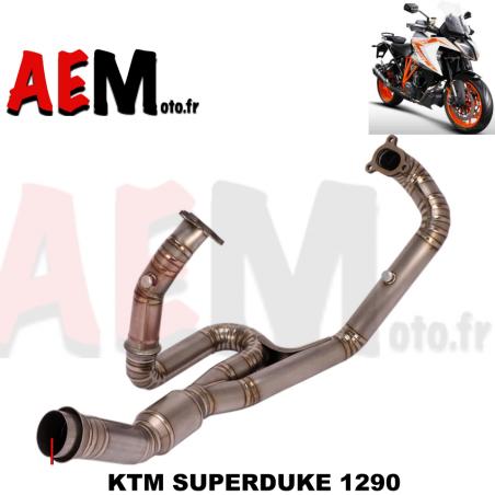 Collecteur sport TITANE avec catalyseur KTM SUPERDUKE 1290