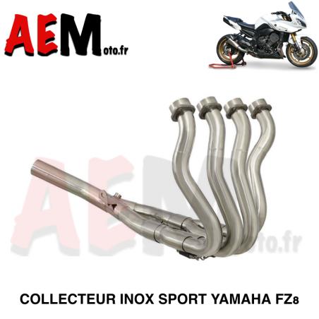 Collecteur sport sans catalyseur Yamaha Fz8 2010-2015