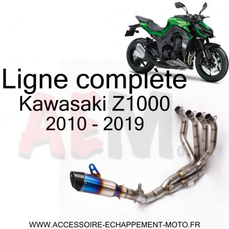 Ligne d'échappement Complète 4 -1 KAWASAKI Z1000 2010 - 2019