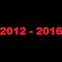 2012 - 2016