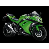 Collecteur & échappement sport Kawasaki Ninja 400